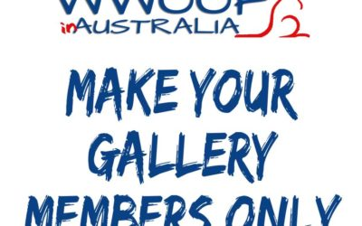Gallery – make it Members Only