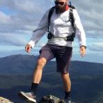 Hiking up Hurtz Peak