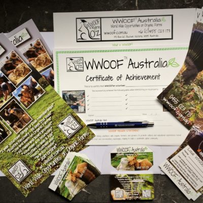 WWOOF Host Marketing Kit 1