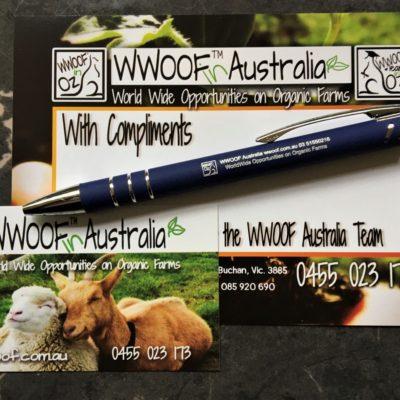WWOOF Pen