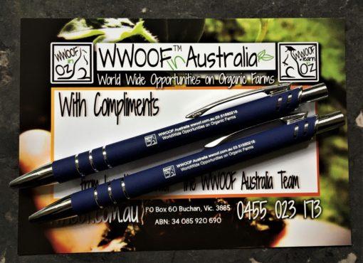 WWOOF Pens