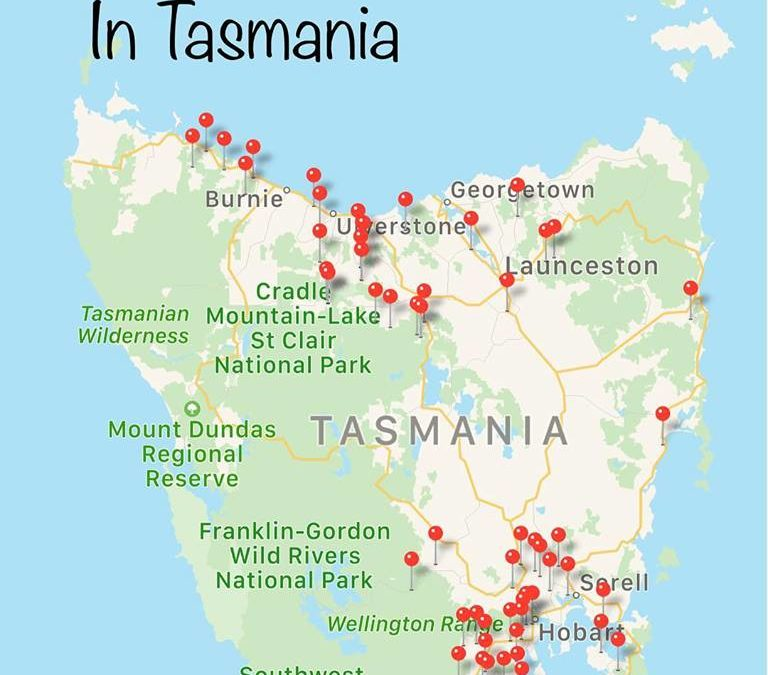 Thank you to our Tasmania WWOOF Hosts