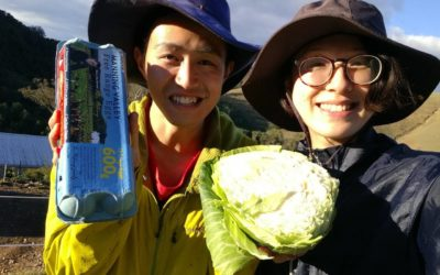 Takamichi & Rina say WWOOF is amazing!