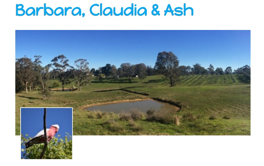 WWOOF Hosts in the Megalong Valley