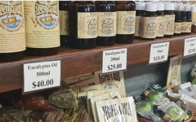 Emu Ridge eucalyptus oil and produce!