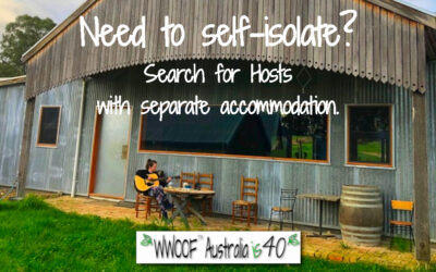 Need to self Isolate? Search for Hosts with separate accommodation.