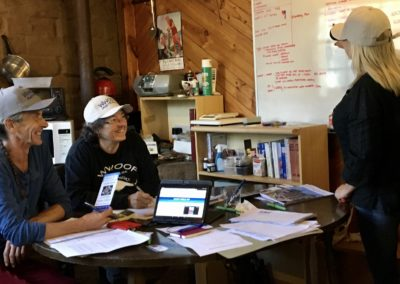 WWOOF Staff meeting 2018