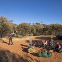 Campers at Ooraminna
