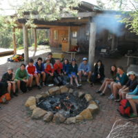 2012 Land Adv campfire