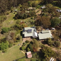 Our house from the air