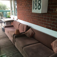 couches on front verandah